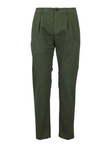 Department 5 - Cotton chino pants in green