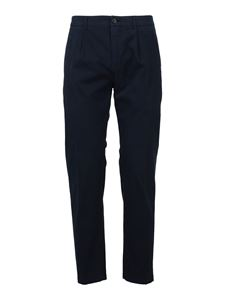 Department 5 - Cotton chino pants in blue