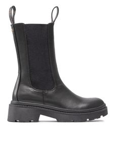 Guess - Lori leather ankle boots in black