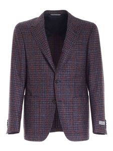 Canali - Single-breasted jacket in purple