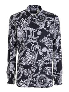 Versace Jeans Couture - Printed shirt in black