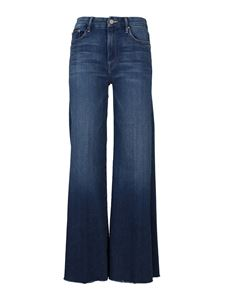 Mother - Jeans The Roller Fray blu