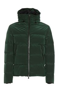 Herno - Hooded puffer jacket in green