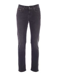 Fay - Faded jeans in black
