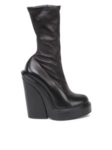 Givenchy - Napa leather sock boots in black