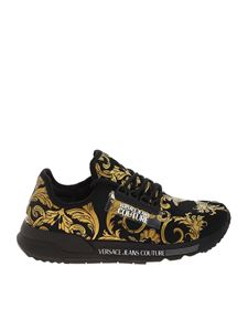 Versace Jeans Couture - Sneakers Baroque nere
