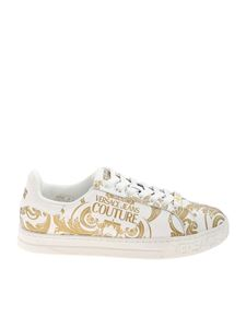 Versace Jeans Couture - Sneakers Baroque bianche