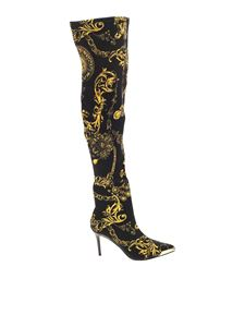 Versace Jeans Couture - Regalia Baroque boots in black