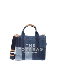 Marc Jacobs  - Small The Tote bag in blue denim