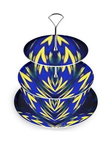 Maria Enrica Nardi - Confiseries cake-stand in blue