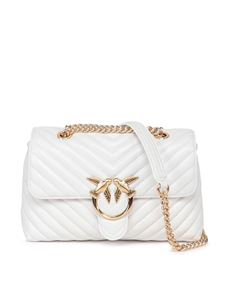 Pinko - Love lady puff v quilt 2 cl bag in white