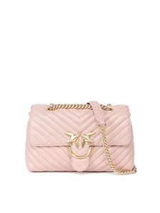 Pinko - Love lady puff v quilt 2 cl bag in beige