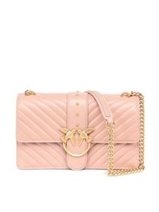 Pinko - Love classic icon v quilt 3 cl bag in beige