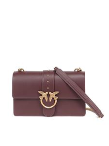 Pinko - Love classic icon simply 9 cl bag in burgundy