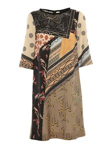 Etro - Paisley patterned dress in multicolor