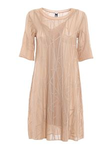 M Missoni - Knitted dress in light pink