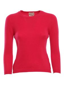 Pink memories - Pull in cashmere fucsia