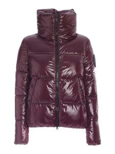 Save The Duck - Isla down jacket in wine color