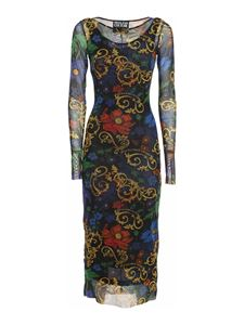 Versace Jeans Couture - Logo dress in multicolor