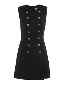 Versace Jeans Couture - Sleeveless dress in black