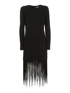 Givenchy - Fringed dress in black
