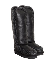 Mou - Tall Eskimo boots in black