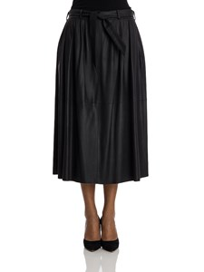 Armani Collezioni - Leather skirt