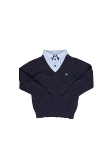 Armani Jr - Cotton pullover