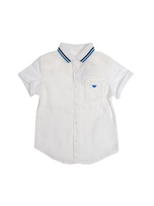 Armani Jr - Camicia in lino
