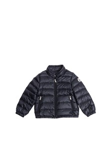 Moncler Jr - Acorus blue down jacket