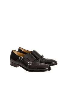 Migliore - Leather Monk strap shoes