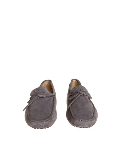 7202c47238b Tod s Carrie Over grey suede loafer - XXM0GW05470RE0B408
