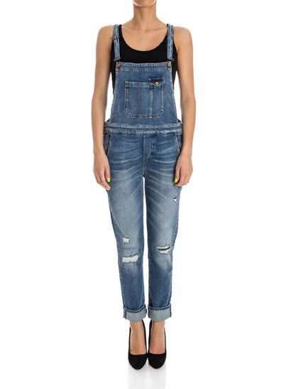 7 For All Mankind - Denim dungarees