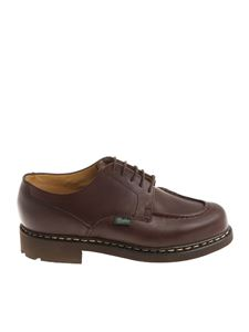 "Paraboot - Brown ""Chambord"" shoes"