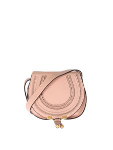 Chloé - Mini Marcie pink leather bag