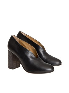 Pomme d'or - Leather pumps