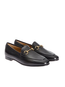Gucci - Jordaan leather loafers in black