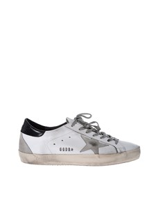 Golden Goose - Superstar sneakers in white and black