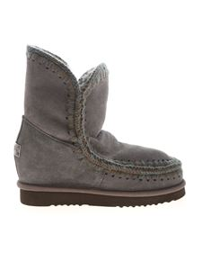 Mou - Eskimo Inner Wedge Short boots in grey