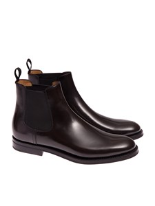 Church's - Dark brown Chelsea boots