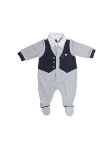 Armani Jr - Cotton rumpsuit