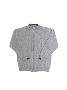 Armani Jr - Cotton and wool cardigan