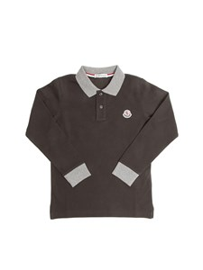 Moncler Jr - Long Sleeves Polo