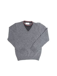 Moncler Jr - V-neck sweater