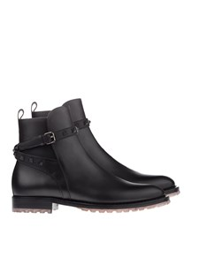 Valentino - Leather ankle boots