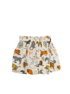 Stella McCartney Kids - Gonna a pieghe