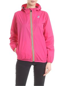 K-way - Bright pink Le Avrai 3.0 Claudette jacket