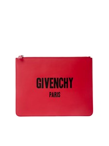 Givenchy - Leather clutch bag