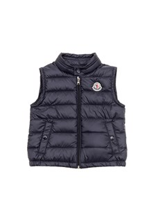 Moncler Jr - Blue New Amaury down jacket