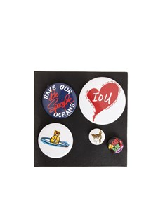 Vivienne Westwood Anglomania - 5 pins set